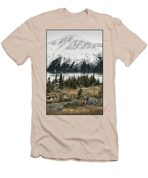Turnagain Arm  Men's T-Shirt (Athletic Fit)