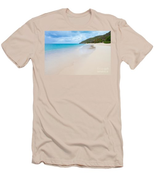 Turner Beach Antigua Men's T-Shirt (Athletic Fit)