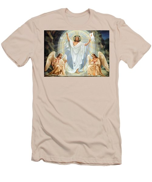 Two Angels Men's T-Shirt (Athletic Fit)
