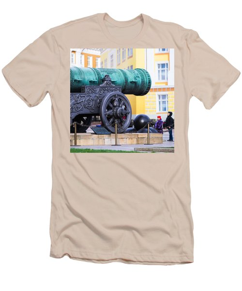Tzar Cannon Of Moscow Kremlin - Square Men's T-Shirt (Athletic Fit)