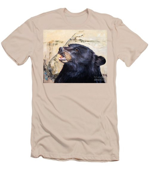 Under The All Sky Men's T-Shirt (Slim Fit) by J W Baker