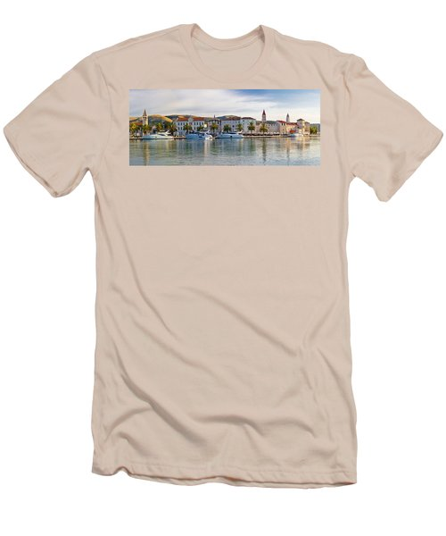 Unesco Town Of Trogit View Men's T-Shirt (Athletic Fit)