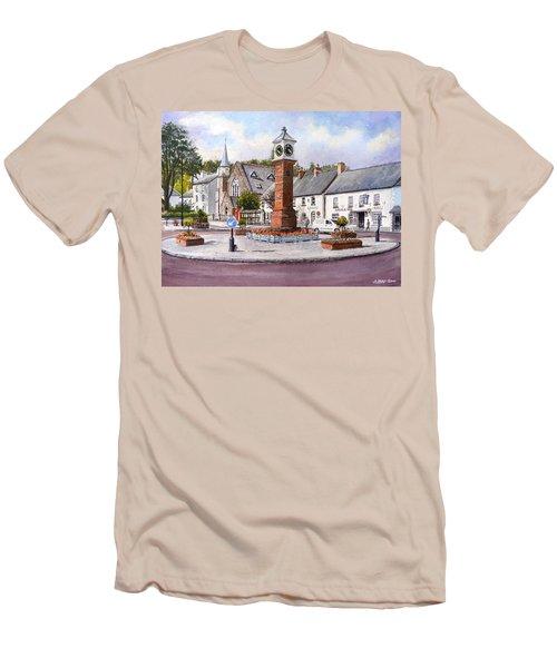 Usk In Bloom Men's T-Shirt (Athletic Fit)