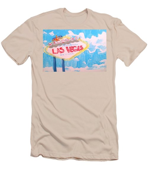 Vegas Men's T-Shirt (Athletic Fit)