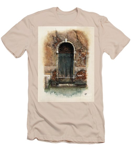 Venetian Door 01 Elena Yakubovich Men's T-Shirt (Athletic Fit)