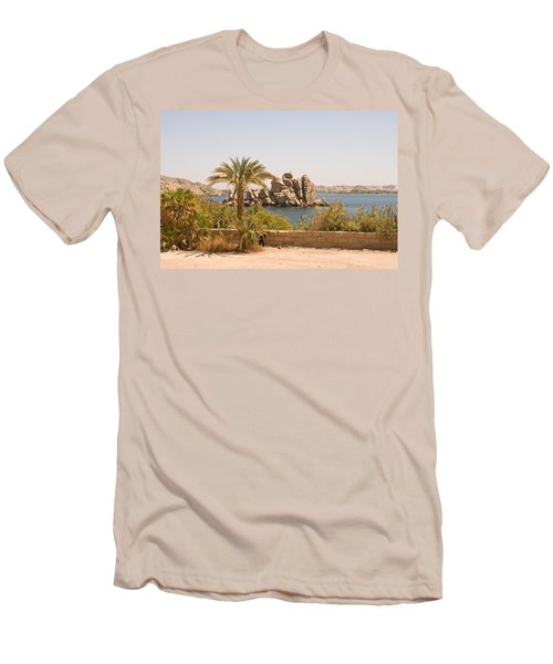 View Of Lake Men's T-Shirt (Athletic Fit)