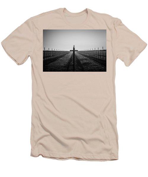 Vineyard Cross Men's T-Shirt (Athletic Fit)