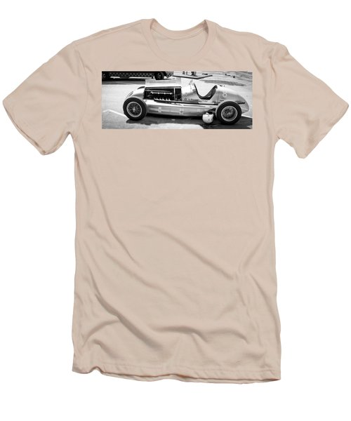 Men's T-Shirt (Slim Fit) featuring the photograph Vintage Racing Car by Gianfranco Weiss