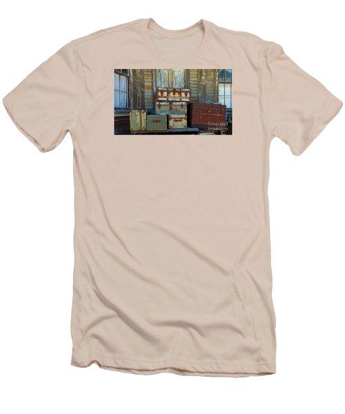 Vintage Trunks   Sold Men's T-Shirt (Athletic Fit)