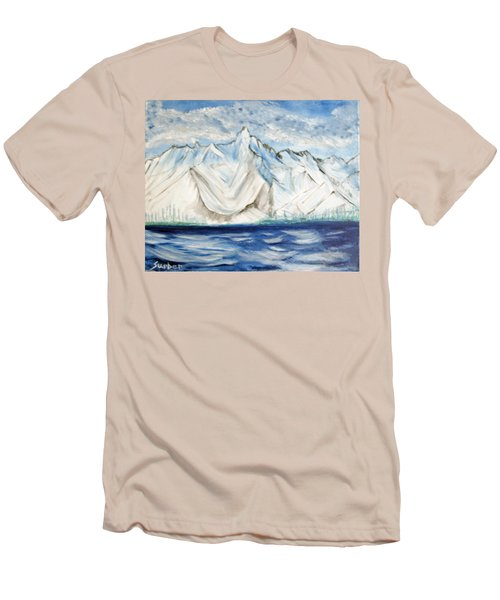 Vision Of Mountain Men's T-Shirt (Athletic Fit)