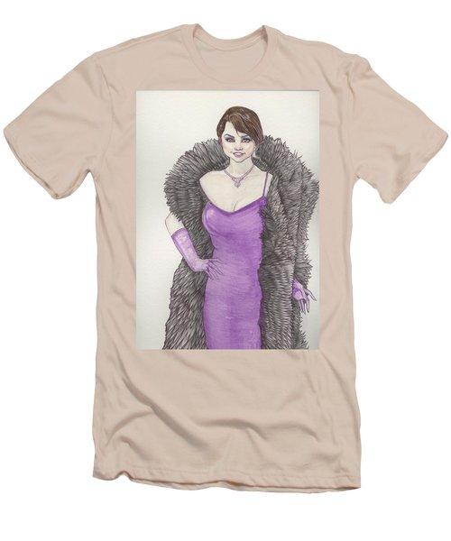 Vivacious Samantha Men's T-Shirt (Slim Fit) by Jimmy Adams