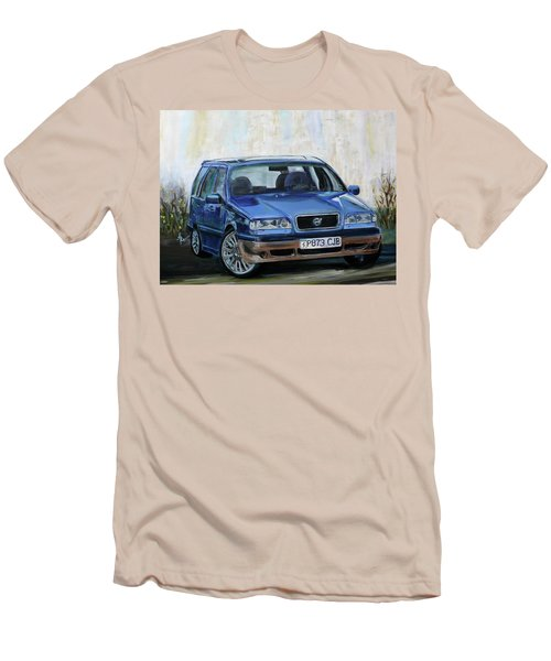 Volvo Men's T-Shirt (Slim Fit) by Anna Ruzsan