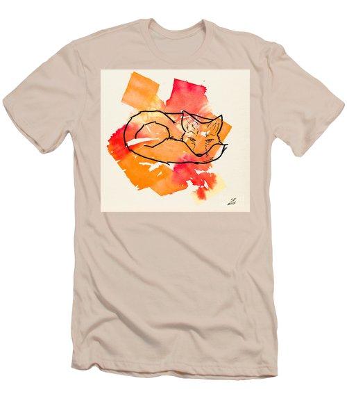 Vulpes Vulpes Men's T-Shirt (Slim Fit) by Stefanie Forck