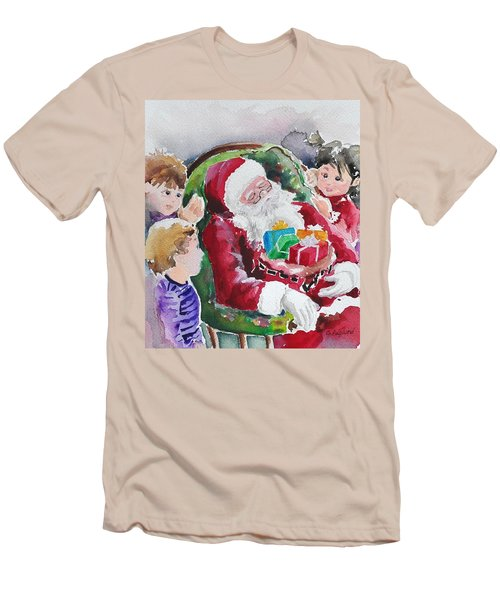 Waiting Up For Santa2 Men's T-Shirt (Athletic Fit)