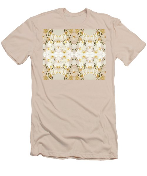 Wall Of Orchids II Men's T-Shirt (Slim Fit) by Paul Ashby
