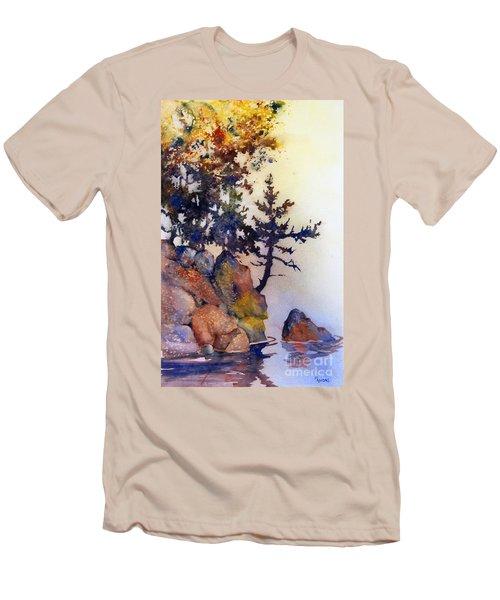 Water's Edge Men's T-Shirt (Slim Fit) by Teresa Ascone