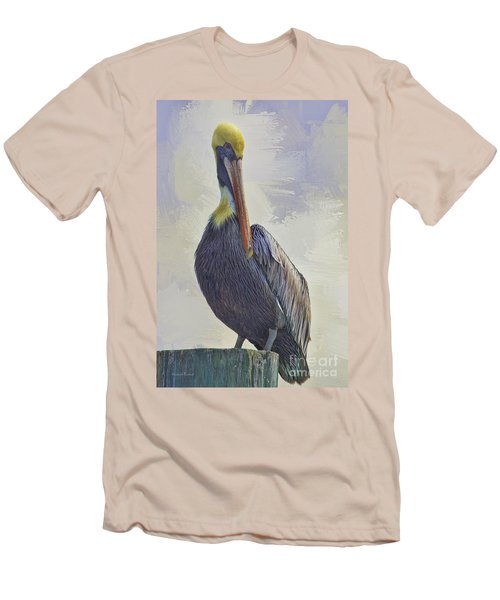 Waterway Pelican Men's T-Shirt (Athletic Fit)