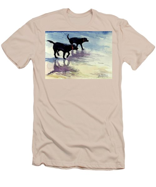 Waverunners Men's T-Shirt (Slim Fit) by Molly Poole