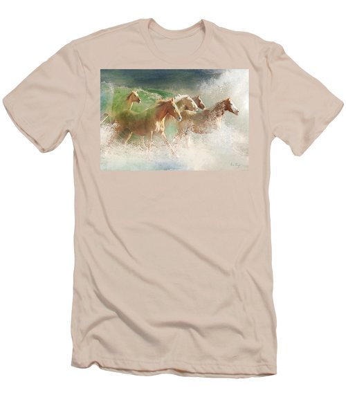 Waves Of God's Glory Men's T-Shirt (Athletic Fit)