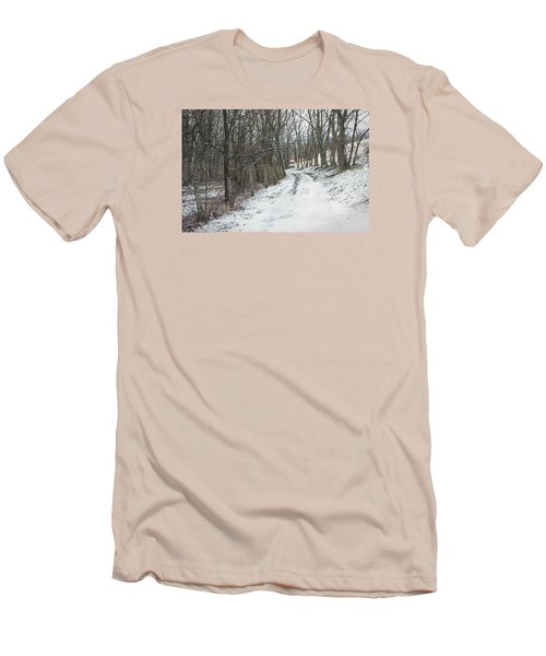 Where The Road May Take You Men's T-Shirt (Slim Fit) by Photographic Arts And Design Studio