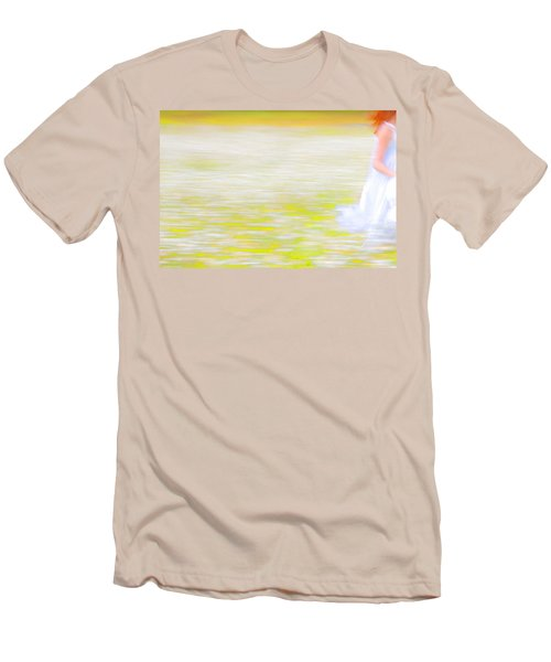 Wherever She Ran Men's T-Shirt (Athletic Fit)