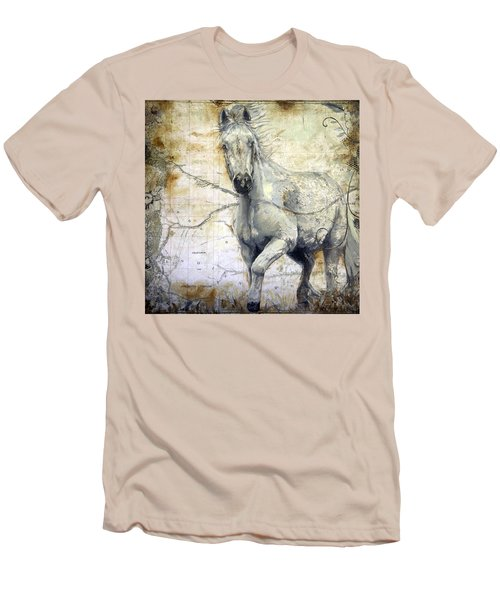 Whipsers Across The Steppe Men's T-Shirt (Athletic Fit)
