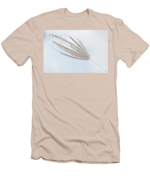 Men's T-Shirt (Slim Fit) featuring the photograph Whispering Weed by Vicki Ferrari