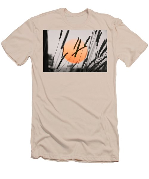 Men's T-Shirt (Slim Fit) featuring the photograph Whispers by Charlotte Schafer