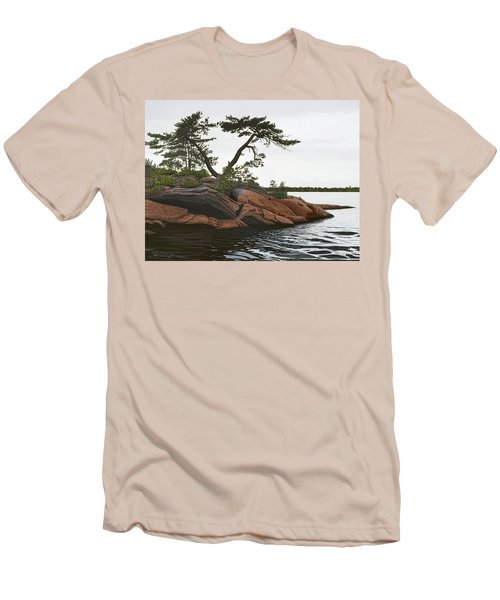 Windswept Men's T-Shirt (Slim Fit) by Kenneth M  Kirsch