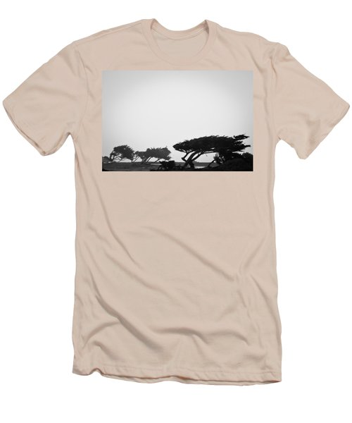 Windswept Shoreline Men's T-Shirt (Athletic Fit)