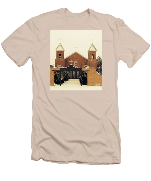 Winter Church Men's T-Shirt (Athletic Fit)