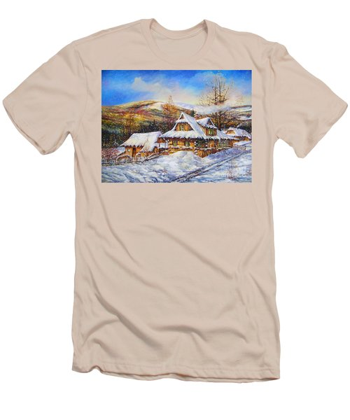 Winter Men's T-Shirt (Athletic Fit)