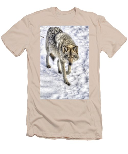 Winter Hunter Men's T-Shirt (Athletic Fit)
