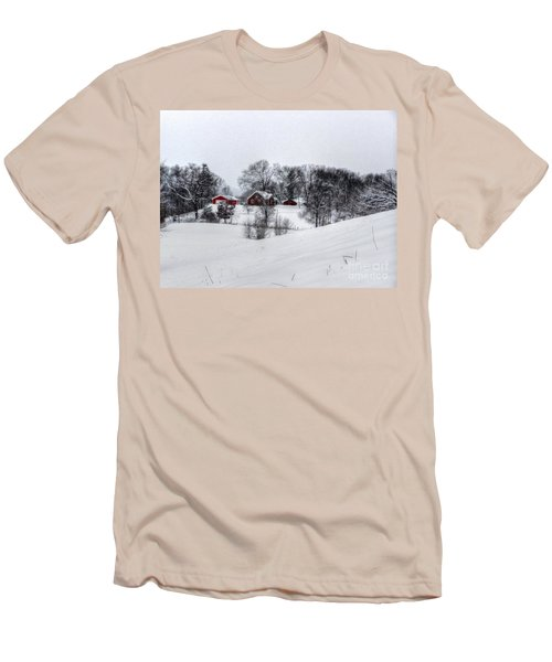 Winter Landscape 5 Men's T-Shirt (Athletic Fit)