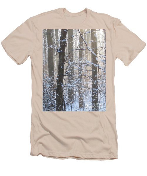 Winter Woodland Men's T-Shirt (Athletic Fit)