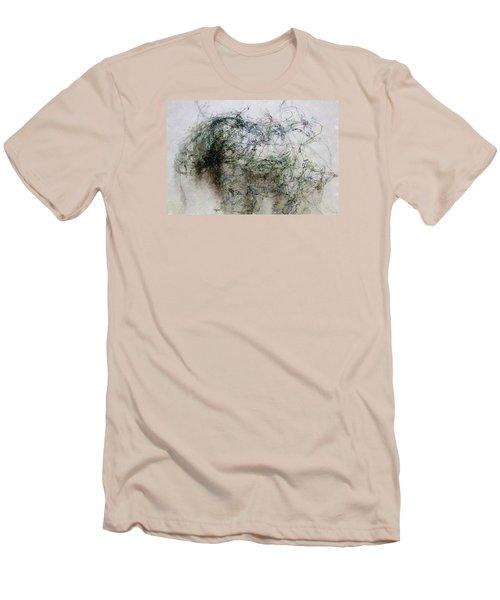 Wired Men's T-Shirt (Slim Fit) by John Stuart Webbstock