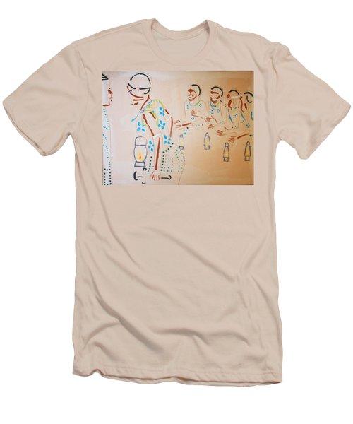 Wise Virgins Men's T-Shirt (Athletic Fit)