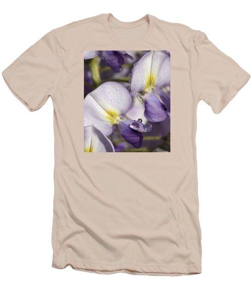 Wisteria Men's T-Shirt (Slim Fit) by Richard Thomas