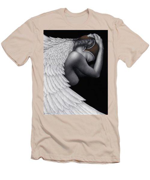 Withdrawal Men's T-Shirt (Slim Fit) by Pat Erickson