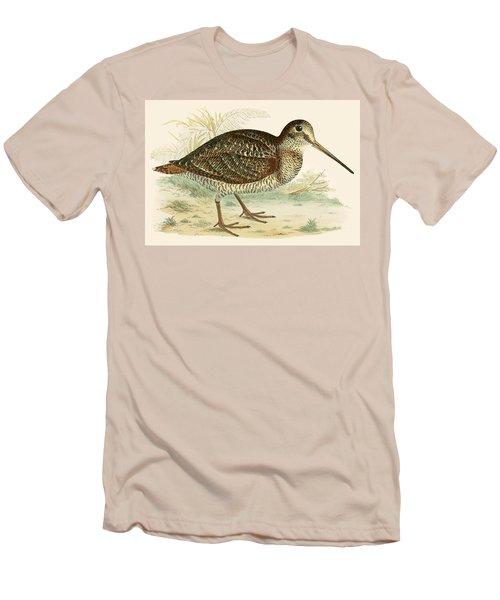 Woodcock Men's T-Shirt (Slim Fit) by Beverley R Morris
