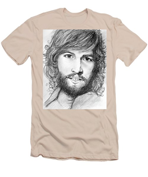 Barry Gibb  Men's T-Shirt (Slim Fit) by Patrice Torrillo