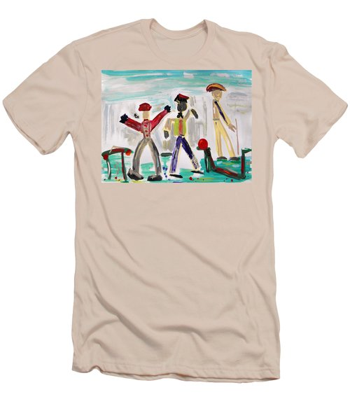 Working Men's T-Shirt (Slim Fit) by Mary Carol Williams