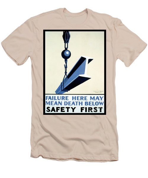 Wpa Vintage Safety First Men's T-Shirt (Athletic Fit)