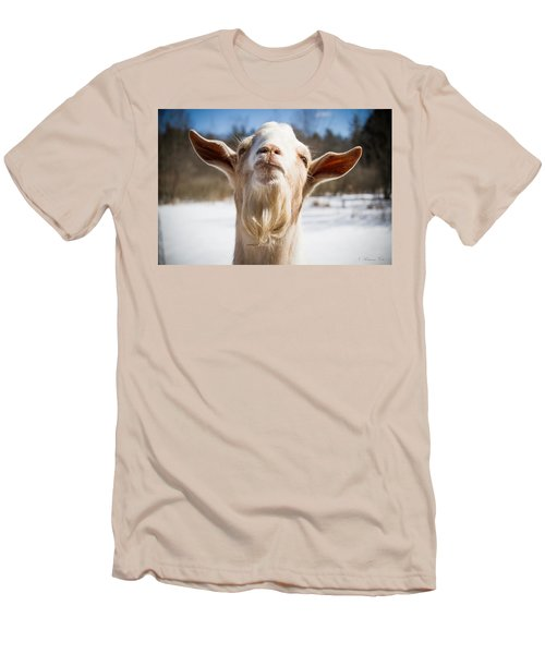 'yoda' Goat Men's T-Shirt (Athletic Fit)