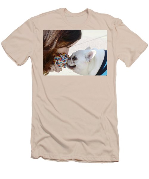 Men's T-Shirt (Slim Fit) featuring the photograph Yummmm by Lisa Phillips