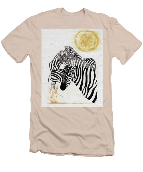 Zebra Quintet Men's T-Shirt (Athletic Fit)