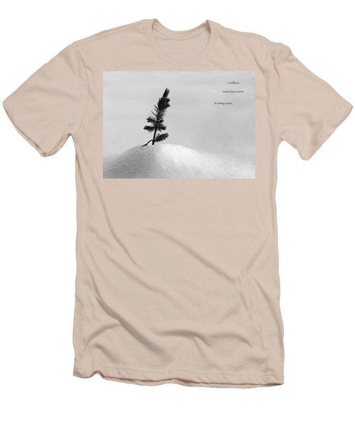 Men's T-Shirt (Slim Fit) featuring the photograph Zen Wisdom Stillness by Peter v Quenter