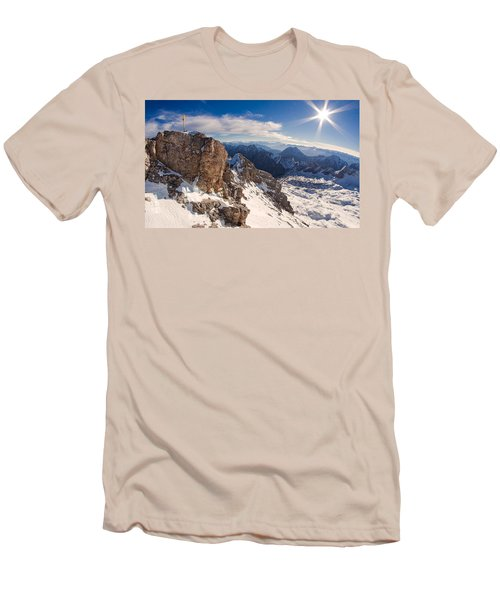 Zugspitze Summit Men's T-Shirt (Athletic Fit)