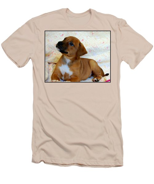 Men's T-Shirt (Slim Fit) featuring the photograph   Take Me Home Please by Peggy Franz