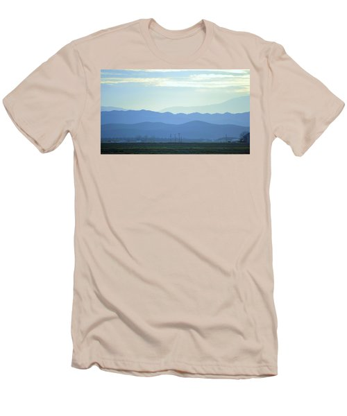 Men's T-Shirt (Slim Fit) featuring the photograph Layers by Rima Biswas